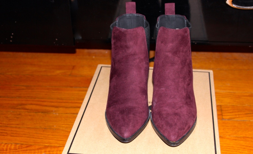 Asos Oxblood Chelsea Boots