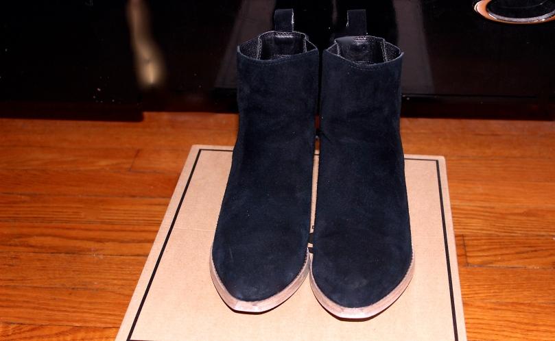 Asos Black Suede Chelsea Boots