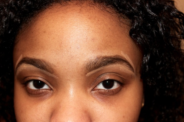 I then go on to fill in my eyebrowns with my Smashbox gel pencil and conceal any strays.